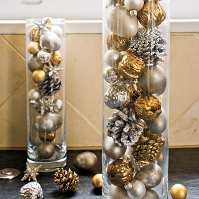 Christmas Ornaments Centerpiece Ideas