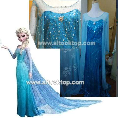 Disney Frozen Birthday Dress