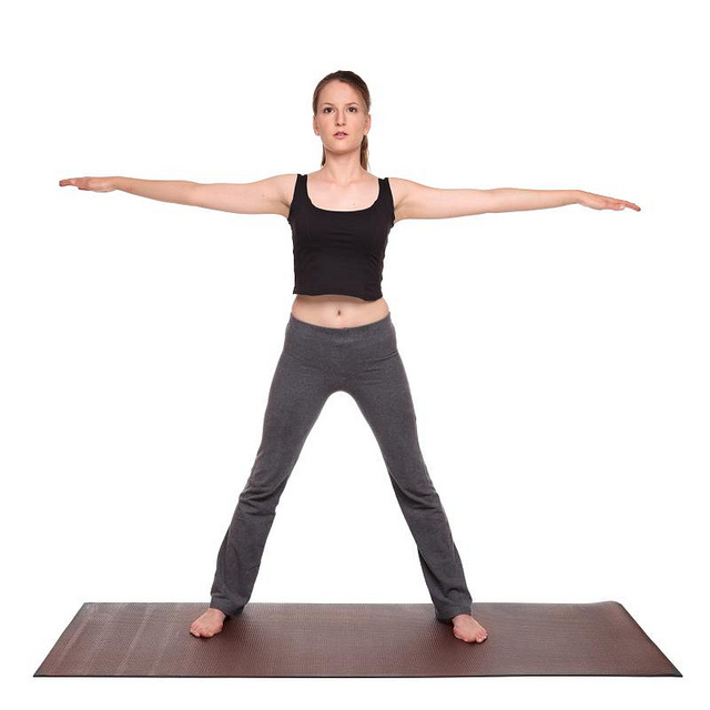 Five Pointed Star Yoga Pose