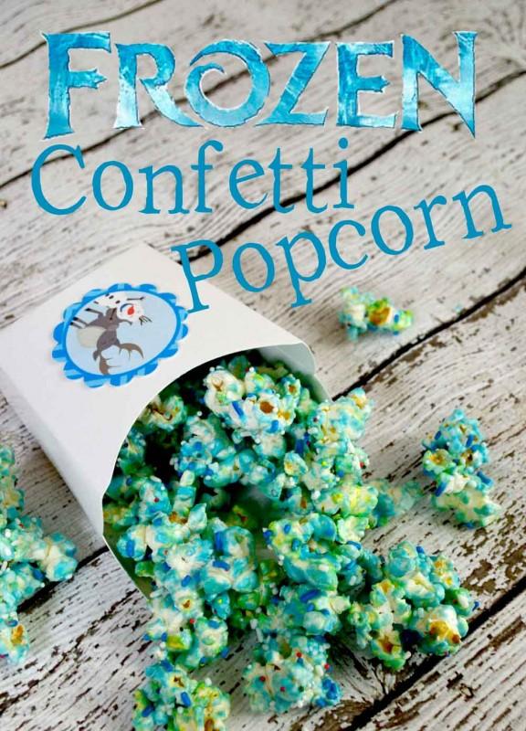 Frozen Confetti Popcorn