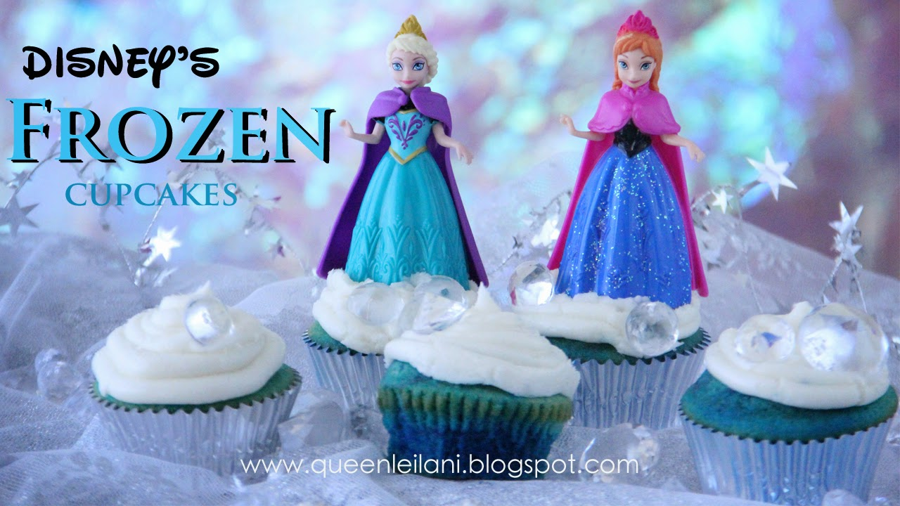 Frozen Frosted Cupcakes