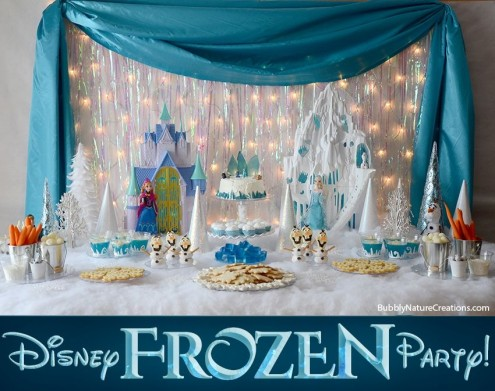Frozen Party Wall Decorations