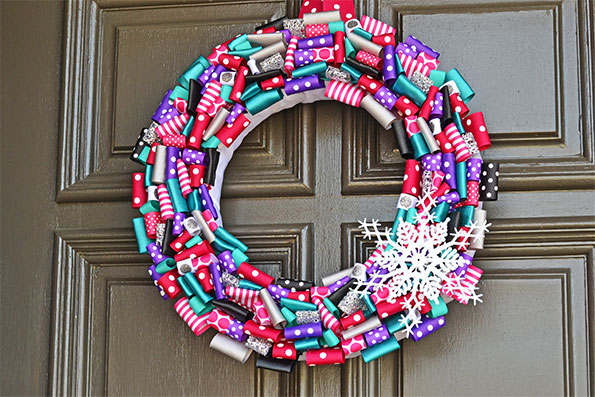 Frozen Party Wreath