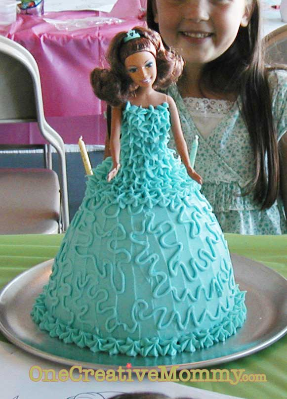 Frozen Princess Cake