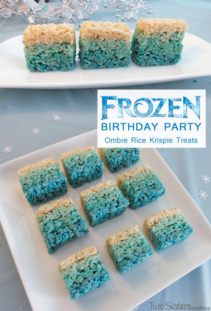 Frozen Rice Krispie Treats