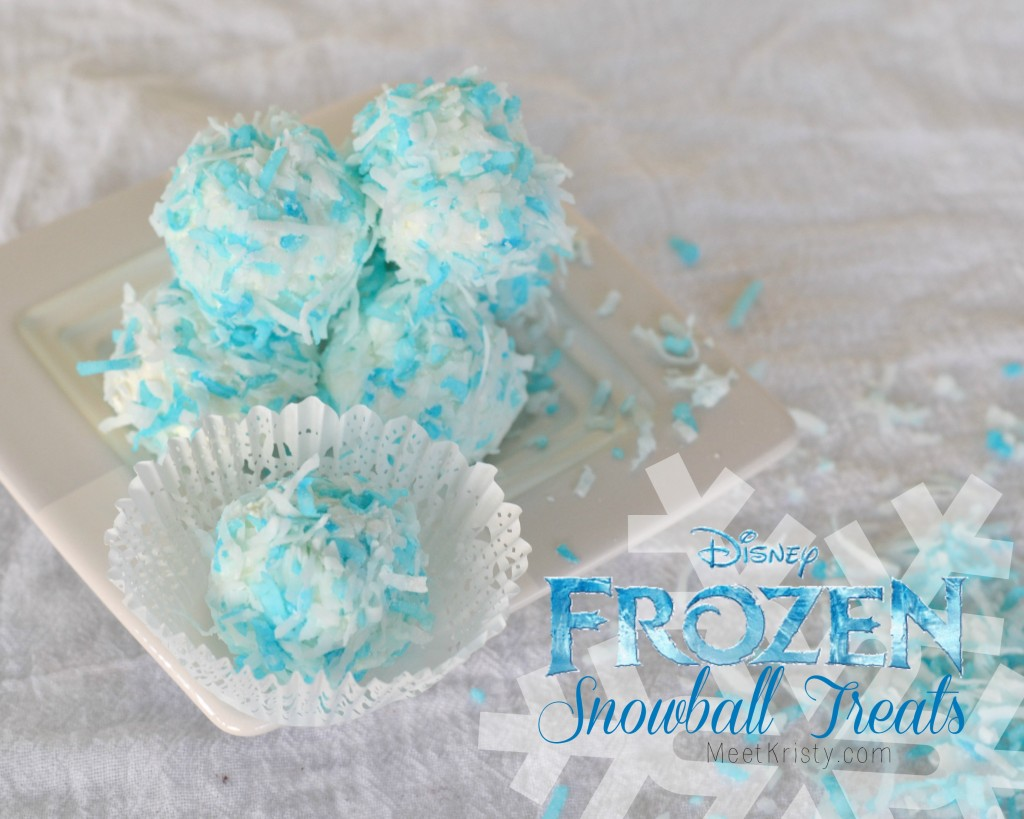Frozen Snowball Treats