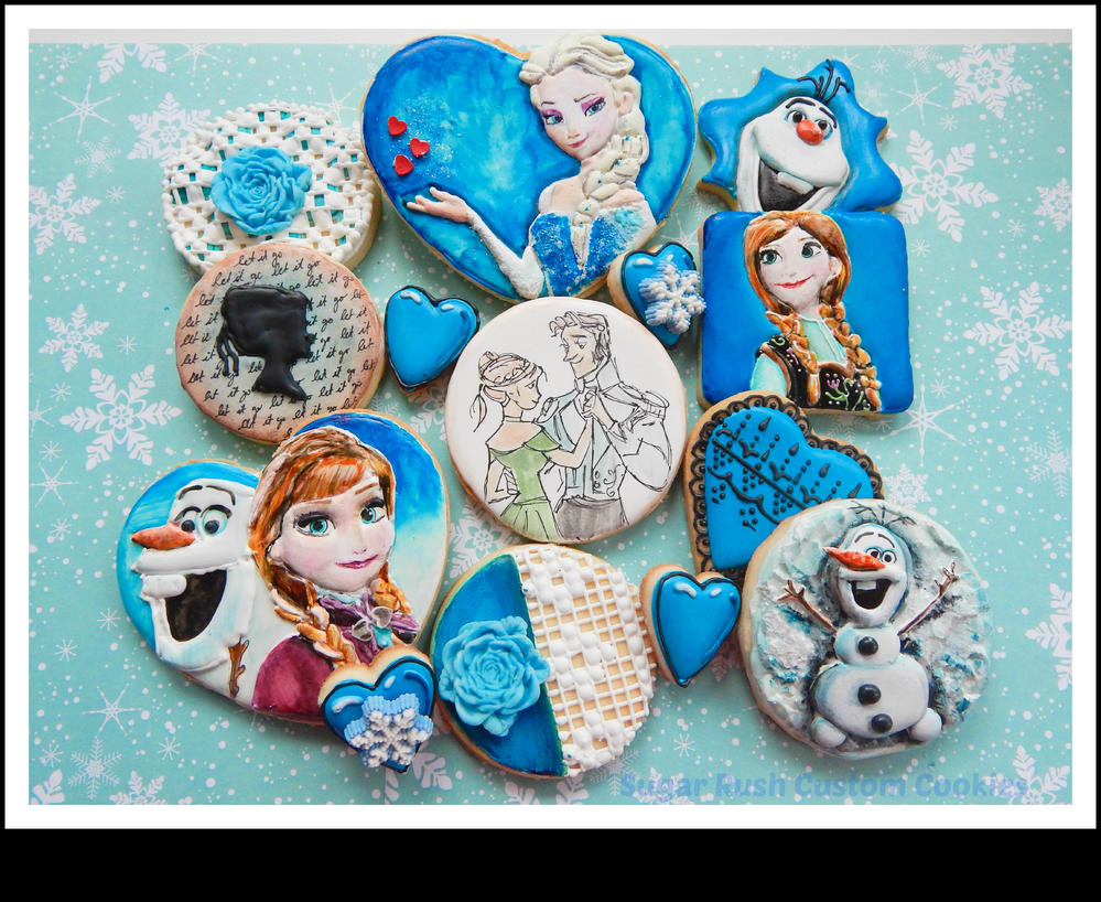 Frozen Sugar Cookies