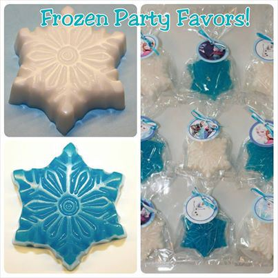 Frozen party Soaps