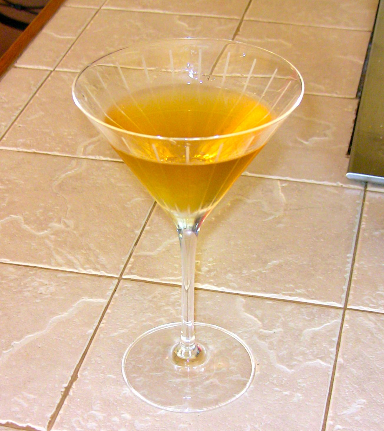 Golden Slipper Cocktail
