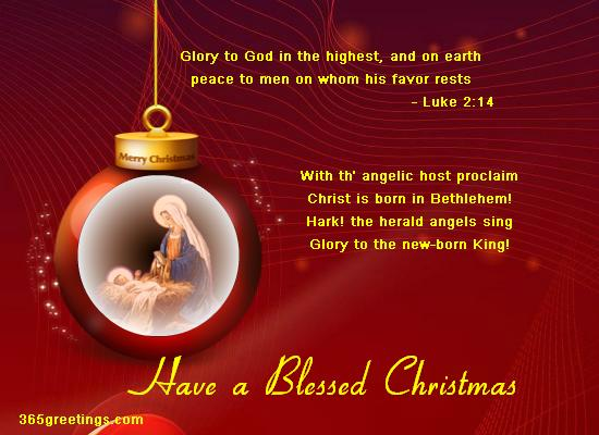 15 Christmas Quotes Religious: Christian Christmas Card Messages