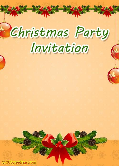 christmas-invitation-template