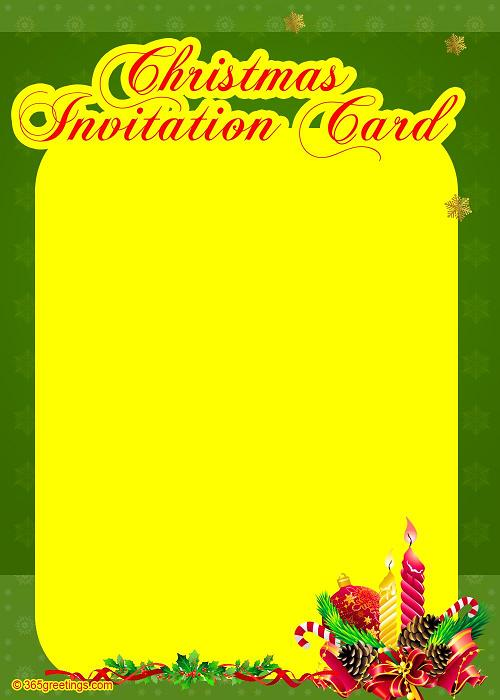 christmas -invites-template