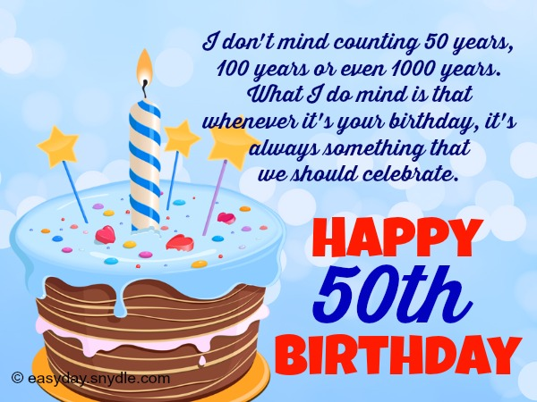 50th birthday greetings easyday 50th birthday greetings m4hsunfo