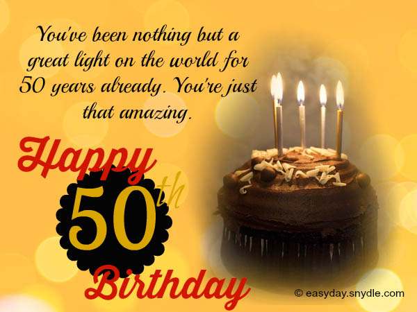 50th birthday wishes easyday 50th birthday messages m4hsunfo