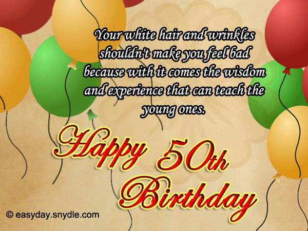 50th birthday wishes easyday 50th birthday wishes greetings m4hsunfo