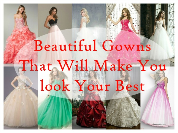 Beautiful Gowns That Will Make You look Your Best - Easyday