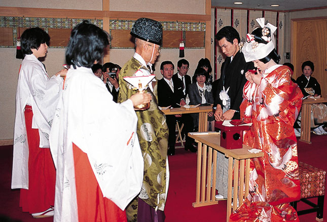 Japanese wedding ceremony - Asian Wedding Ceremony