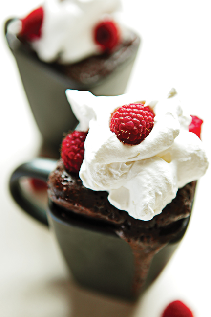 Nutella Espresso Mug Cake