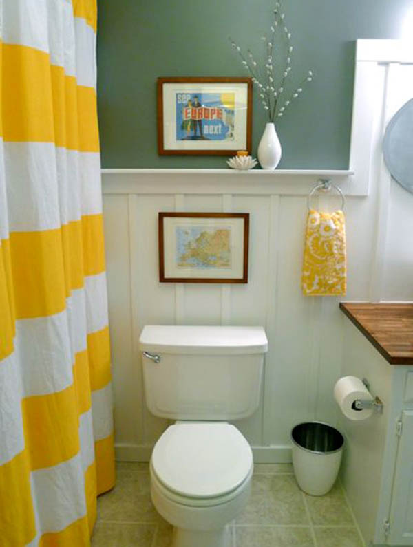 Small bathroom design ideas easyday for Bathroom ideas for small spaces