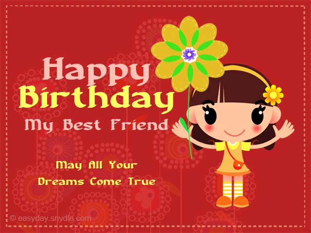 Birthday Wishes for Friend Easyday – Happy Birthday Wishes Greetings for Friends