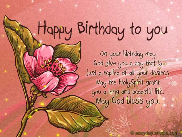 Birthday Wishes For Husband In Christian ~ Birthday archives easyday