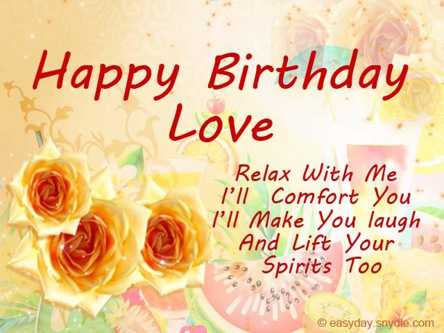 Romantic birthday greetings easyday romantic birthday greetings m4hsunfo