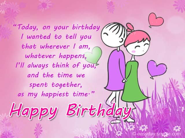 Romantic birthday messages easyday romantic birthday messages m4hsunfo