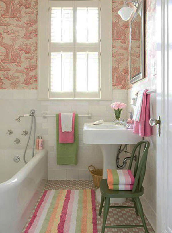 Small bathroom design ideas on a budget easyday - Cheap bathroom ideas for small bathrooms ...