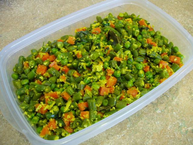 Carrot-Beans-Thoran