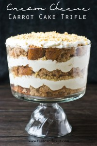 Cream Cheese Carrot Cake Trifle