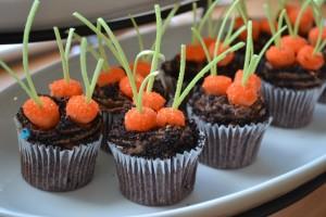 Garden Carrot Cakes