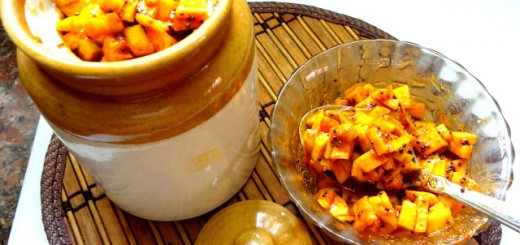 Instant Cut Mango Pickle