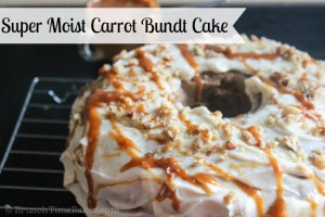 Super Moist Carrot Bundt Cake