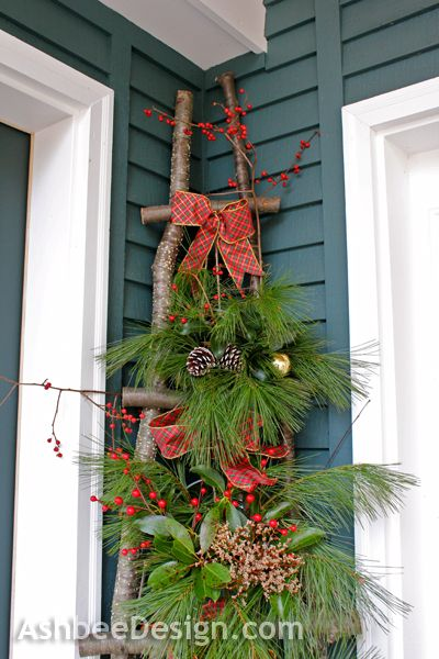 Outdoor-Christmas-cornor-decorations