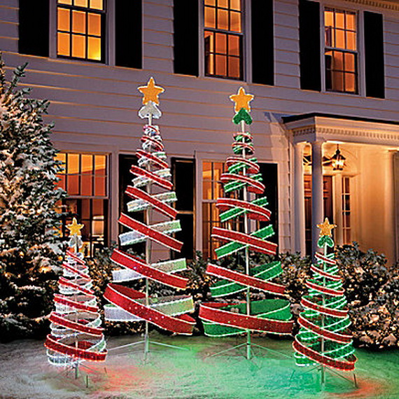 Trendy Outdoor Christmas Decorations Part 68