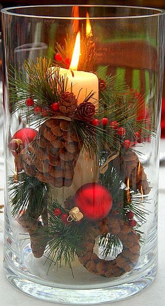 christmas-lantern-centerpieces