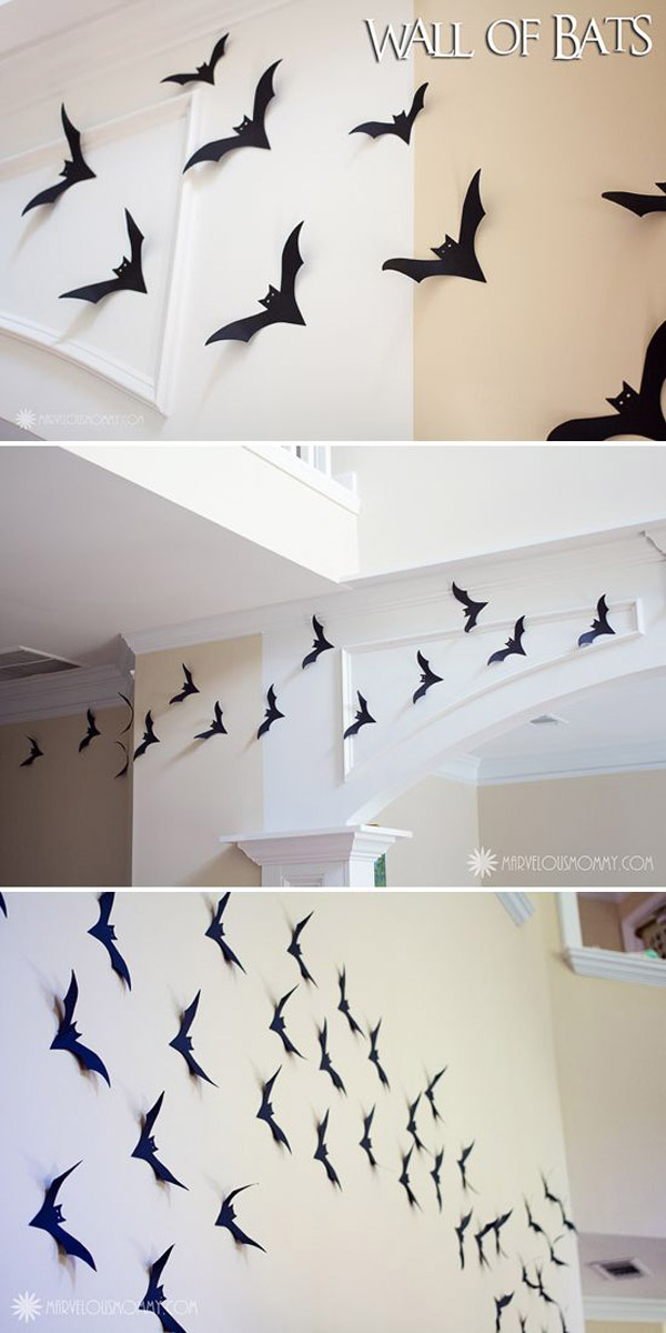 Wall decorations diy pinterest : Most ing halloween decorations to pin on your