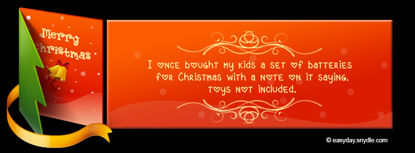 Merry Christmas Facebook Timeline Covers - Easyday