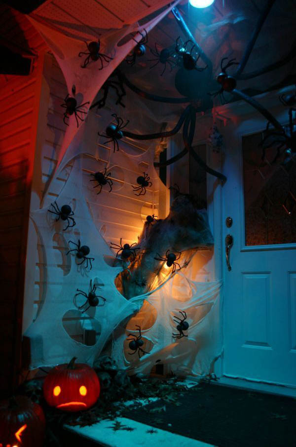 halloween front door decorations