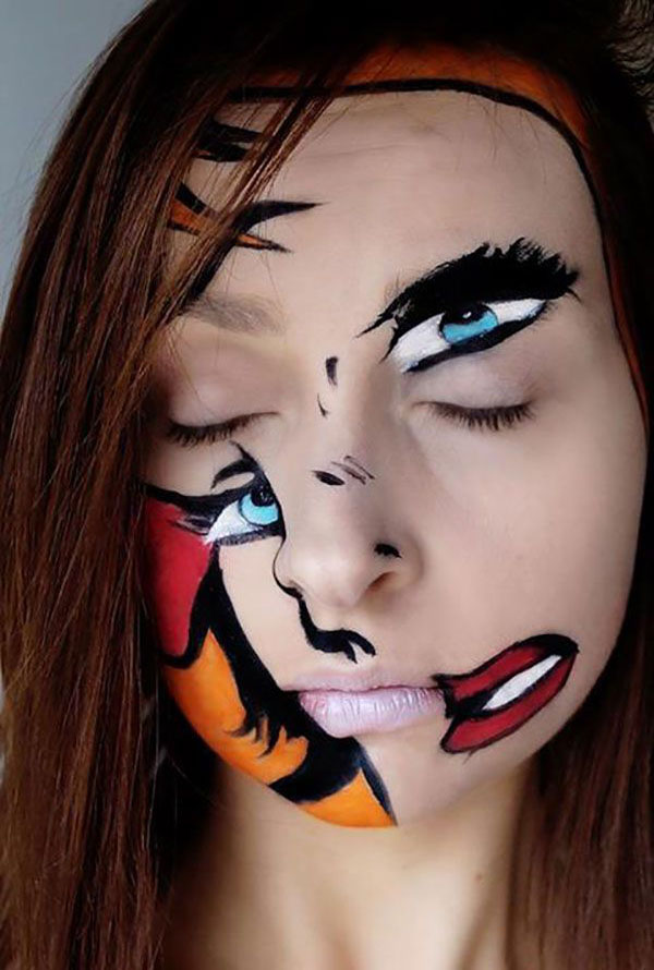 35 Disgusting and Scary Halloween Makeup Ideas on Pinterest That ...