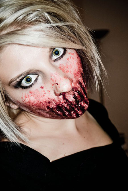 Disgusting Scary Halloween Makeup Ideas