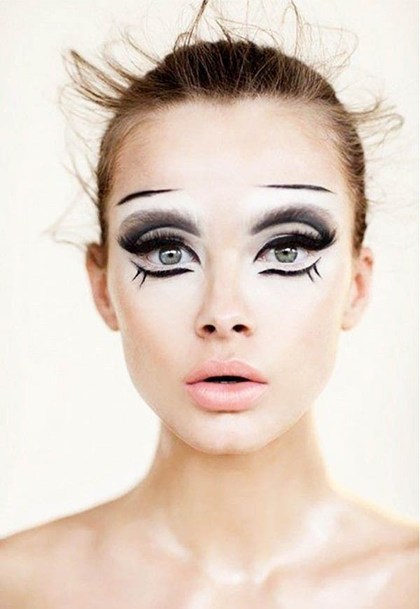 easy halloween makeup ideas  Easyday - Very Easy Halloween Makeup