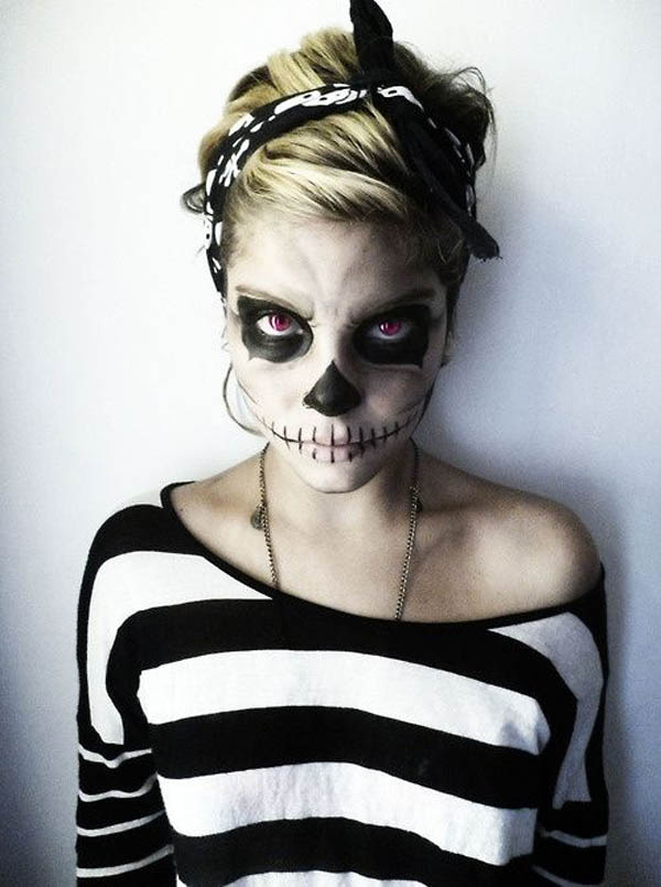 35 Disgusting And Scary Halloween Makeup Ideas On ...