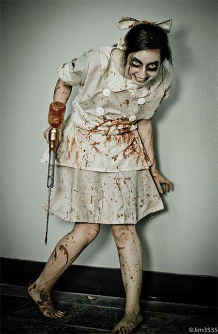 29 most pinteresting halloween costume ideas the will scare the scary costume for halloween solutioingenieria Gallery