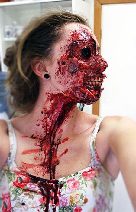 Halloween Makeup Scary.Scary Halloween Makeup Ideas Pinterest Easyday