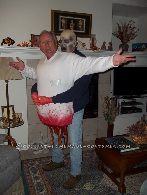 Zombie Victim Costume. spooky-halloween-costume-ideas & 29 Most Pinteresting Halloween Costume Ideas the Will Scare The Hell ...