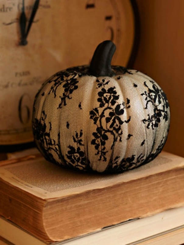33 cool no carve pumpkin decorating ideas to try this Unique pumpkin decorating ideas