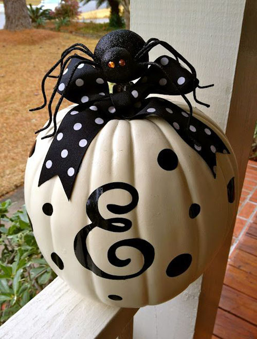 33 Cool No Carve Pumpkin Decorating Ideas To Try This