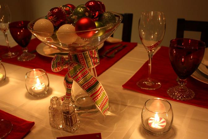 Christmas-Candle-with-red-ornaments