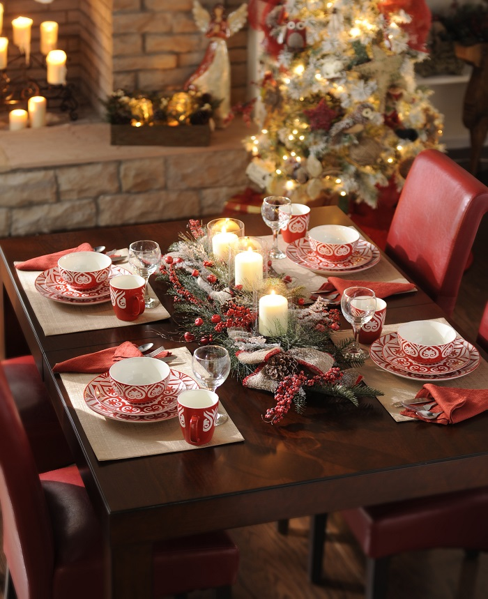 elegant table decorations & 40 Christmas Table Decors Ideas To Inspire Your Pinterest Followers ...
